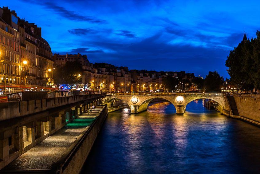 Paris vacation seine river paris france