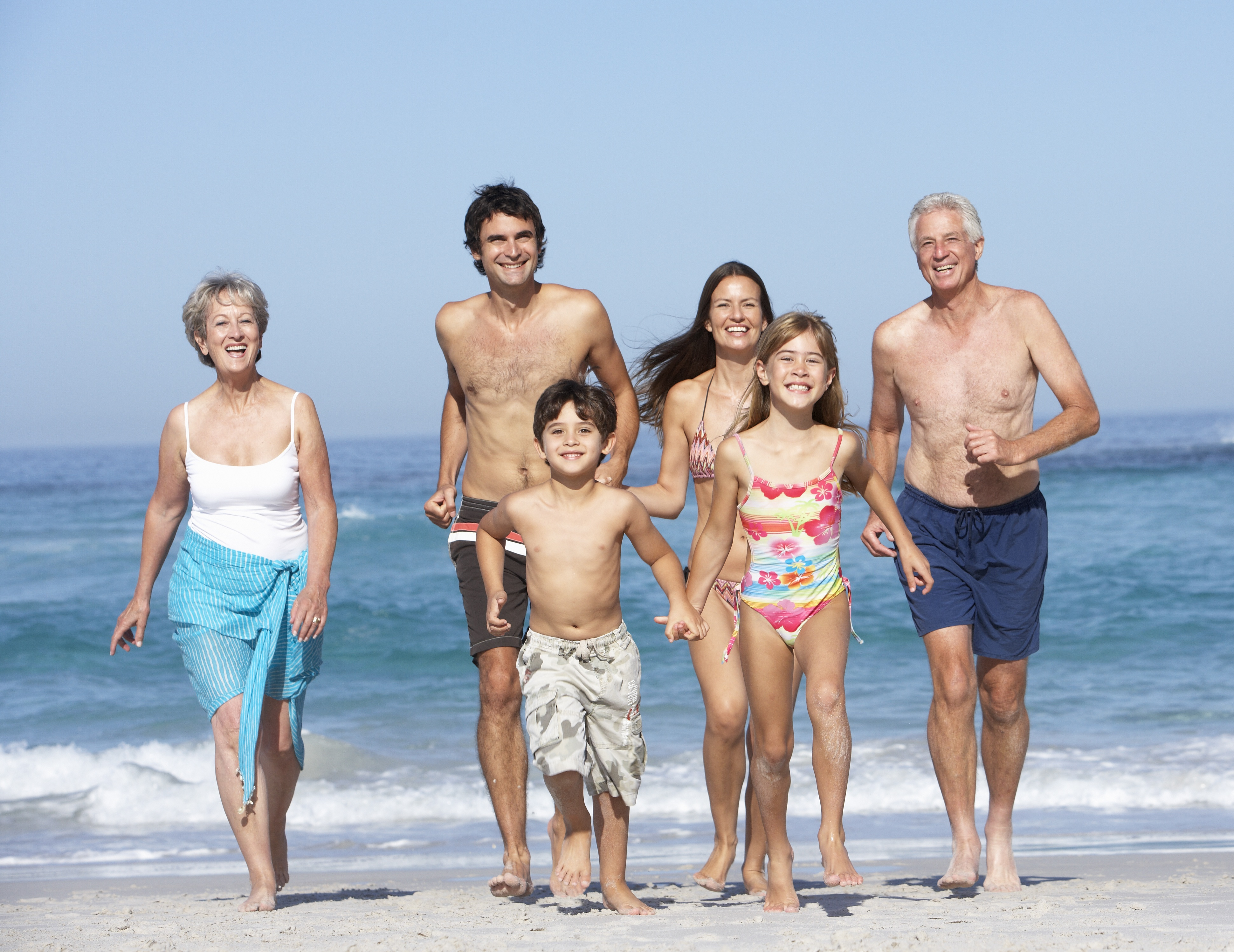 Multi Generation Family Vacation At The Beach Photos Yfgt
