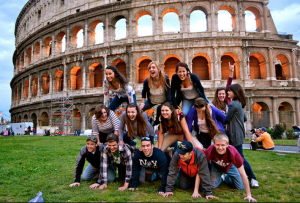 Students Exploration of Italy on a life trip. Travel can be book direct on www.YourFutureTravel.com