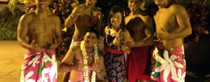 Chris & Lenny White Hawaiian Vacation